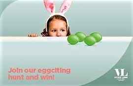 Join the Eggnormous Egg Hunt at Vicar Lane