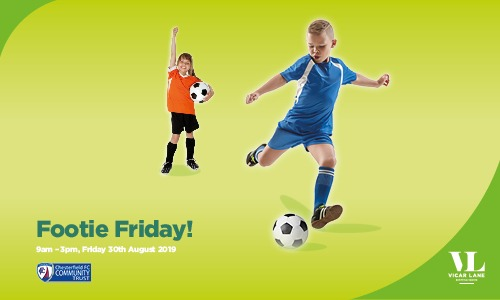 Footie Friday! With Chesterfield FC Community Trust
