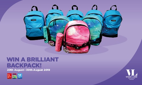WIN A BRILLIANT BACKPACK!